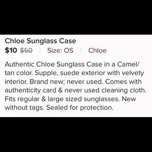 Chloe Accessories - Chloe Sunglasses Case